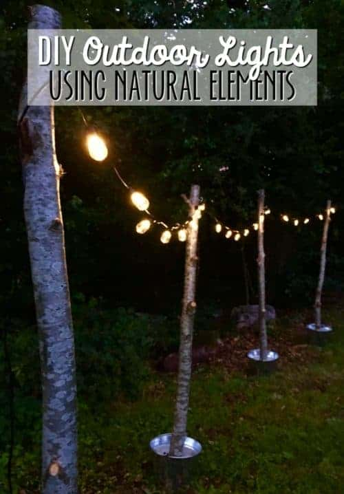 DIY Outdoor Lights & Simple Wedding Ideas on a Budget