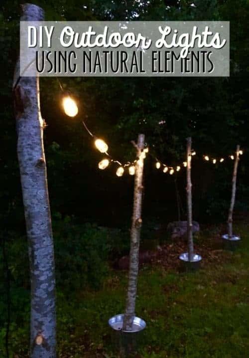 DIY Outdoor Lights & Simple Wedding Ideas on a Budget