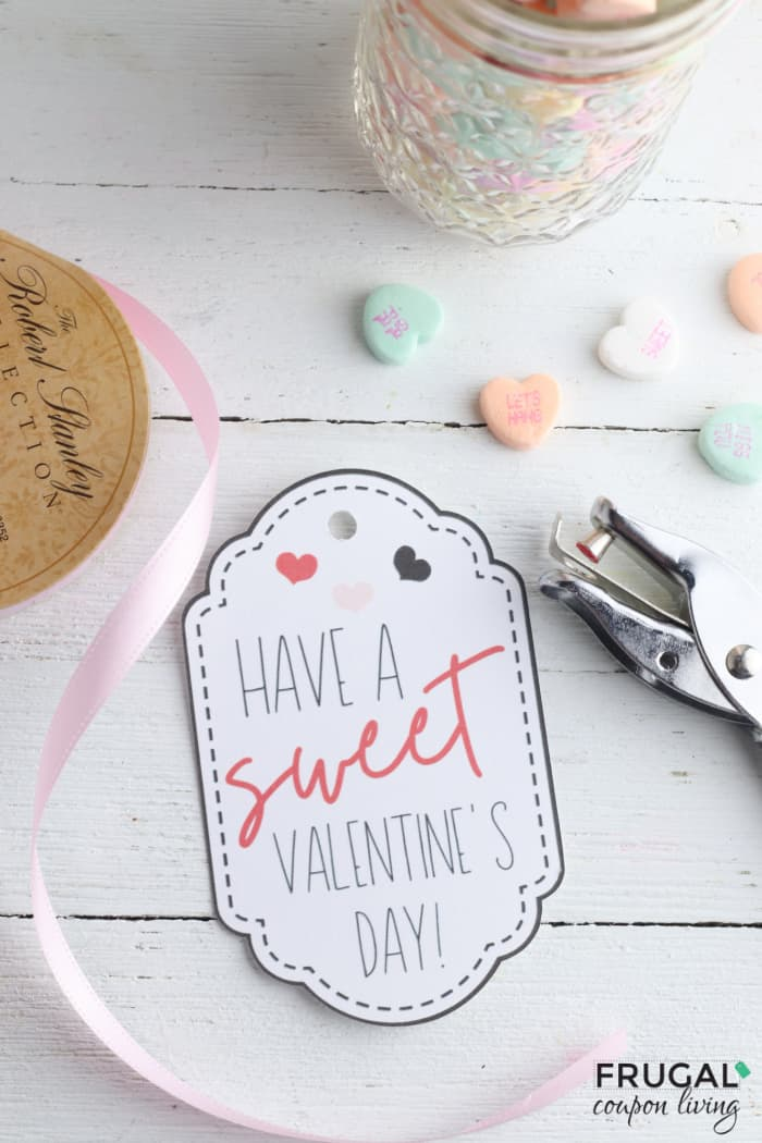 Have a Sweet Valentines Day Valentine Gift Tag
