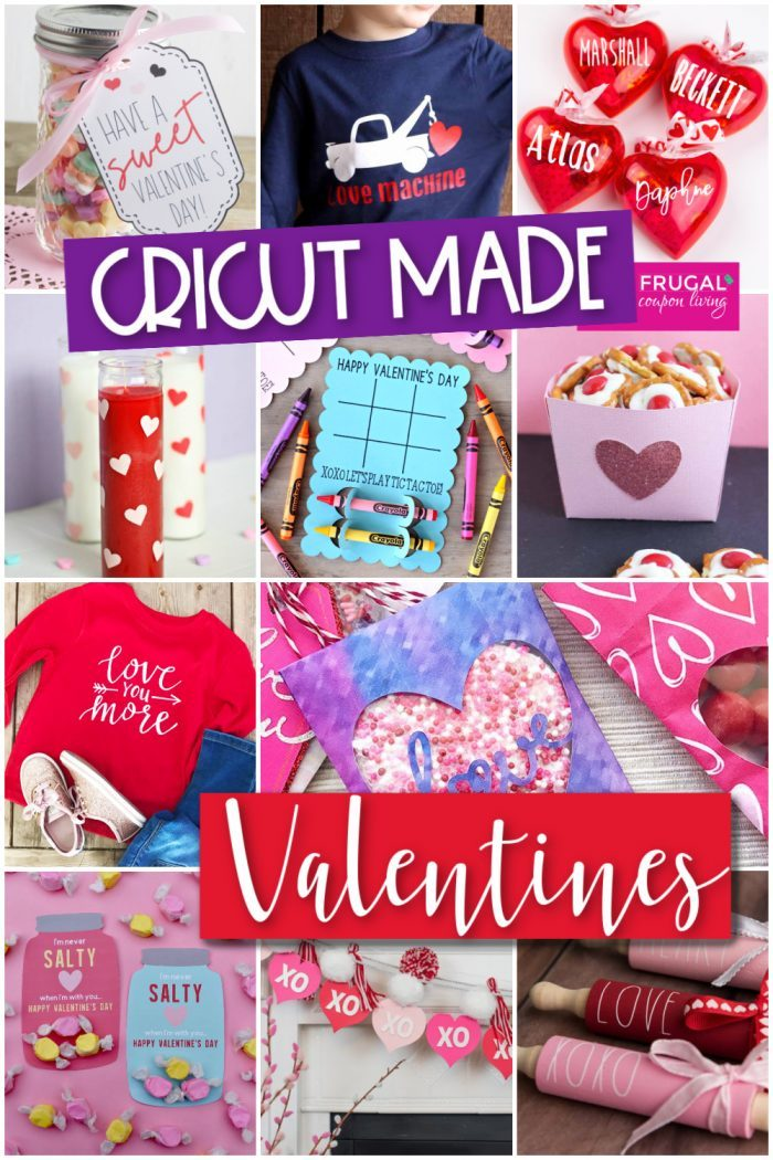 Valentine Cricut Ideas | Cricut Made Crafts and Valentine Gift Ideas