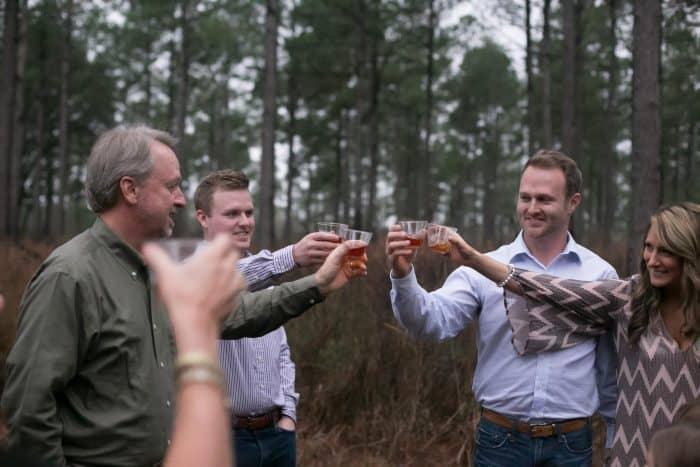 Southern Bury the Bourbon Wedding Traditions | Frugal Wedding Ideas