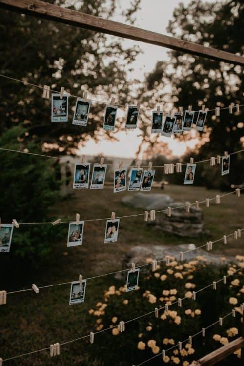 Frugal Wedding Photo Ideas + Cheap Wedding Decor & Ideas