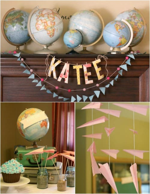 Around the World Adoption Party Theme & Party Ideas