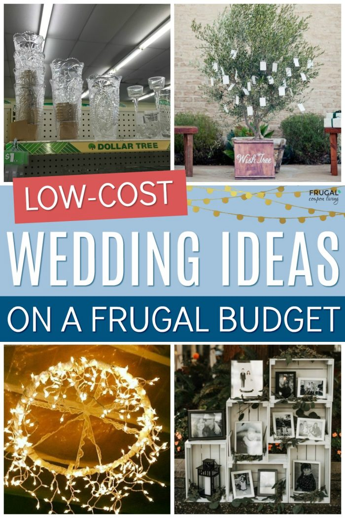 Low Cost Wedding Ideas on a Frugal Budget