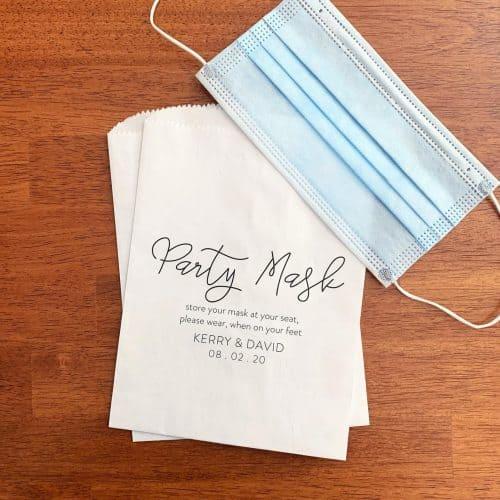 Face Mask Wedding Ideas | Simple Wedding Ideas on a Budget
