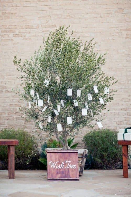 Guest Wish Tree | Frugal Wedding Ideas on a Budget