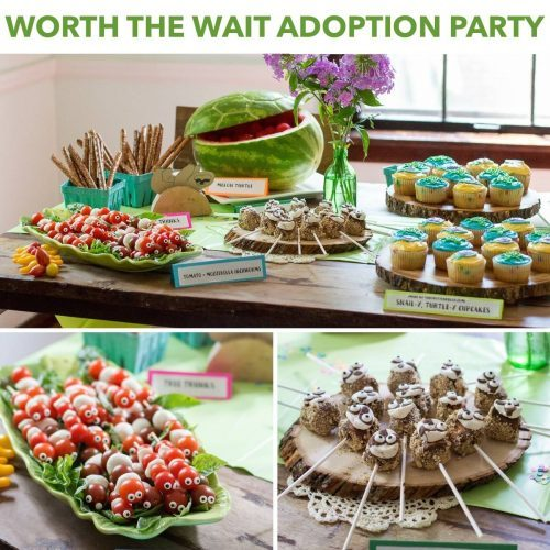 Worth the Wait Adoption Party Theme