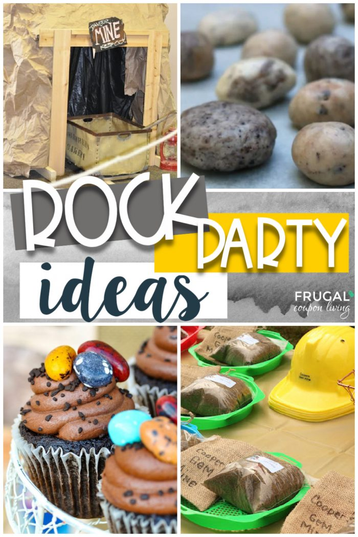 Rockin' Geology Rock Party Ideas, Mining for Gems, Rock Climbing, and More