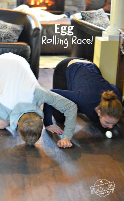 Raw Egg Roll Challenge + Easter Egg Games