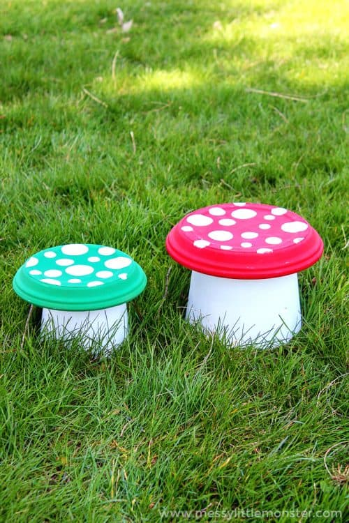 Garden Flower Pot Toadstools | Clay Pot Crafts Ideas