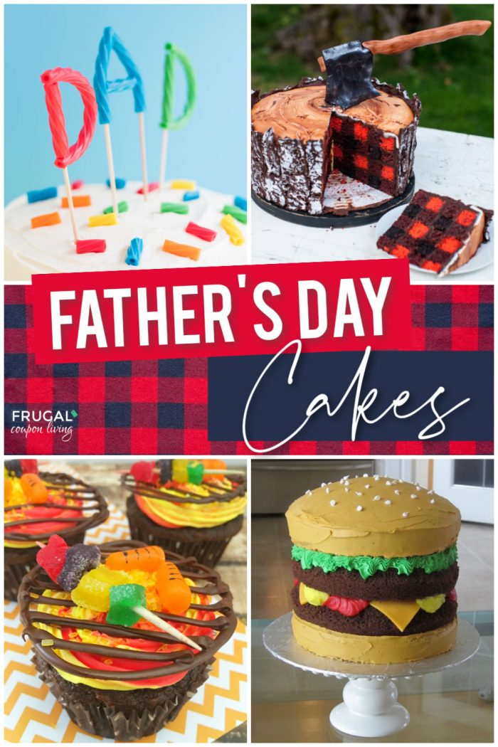 four fathers day cake designs