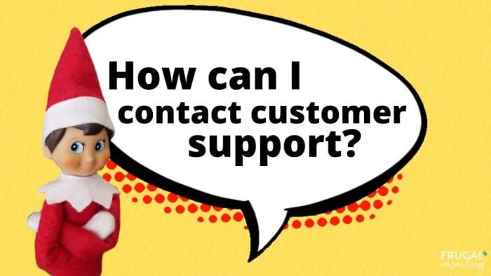 Elf Questions - What is the Elf on the Shelf phone number for customer support?