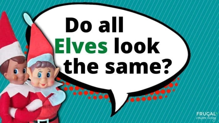 Elf Questions - Do all Elves look the same?