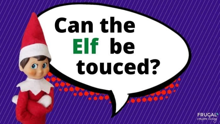 Elf Questions - Can you touch the Elf on the Shelf?