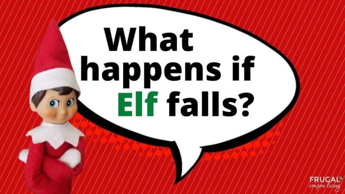 Elf Questions - What happens if Elf on the Shelf falls?