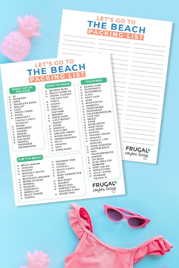 Complete Beach Packing List