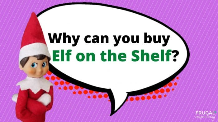 Why can you buy elf on the Shelf