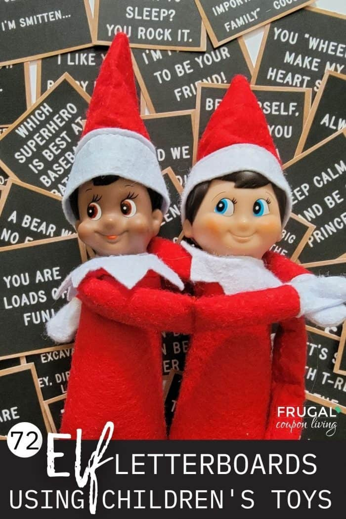 72 Elf on the Shelf notes