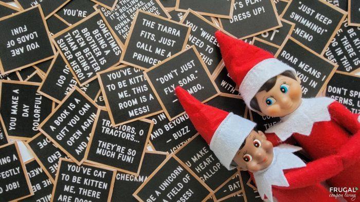 elf on the shelf notes kit