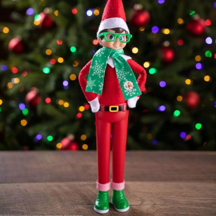 Elf ont he Shelf Standing Up Elf Prop