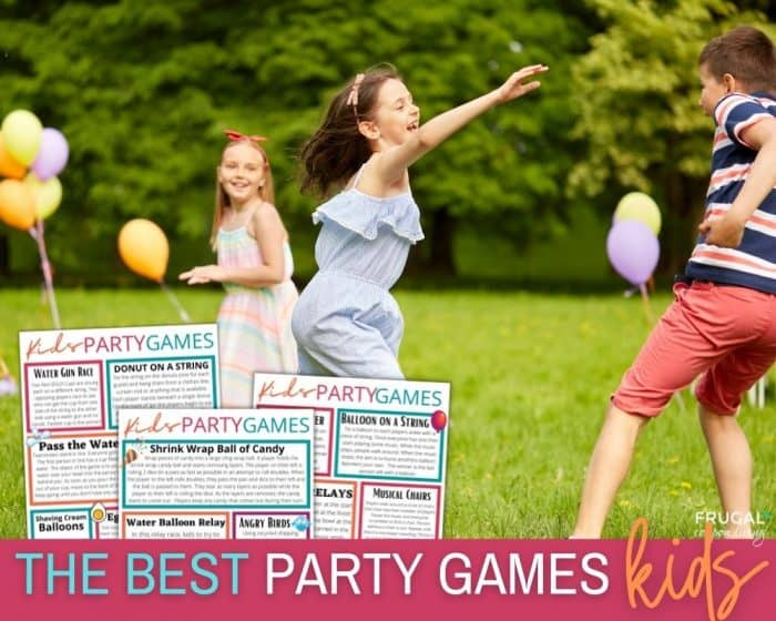 17 of The Best Kids Party Games