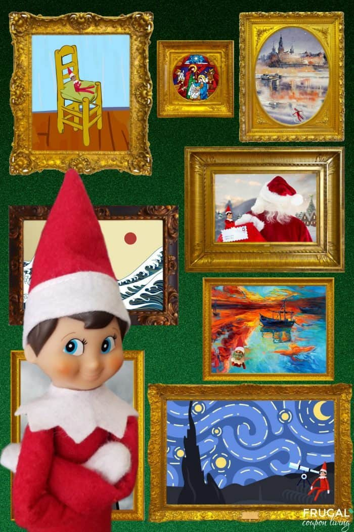 Elf on the Shelf Art printables