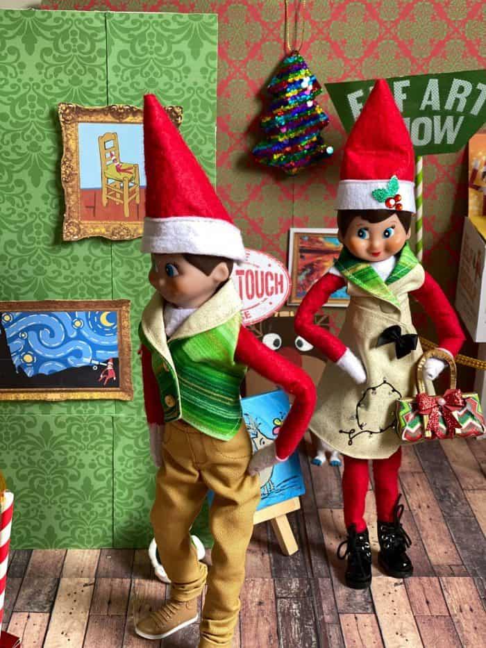 Elf on the Shelf Portraits Printables