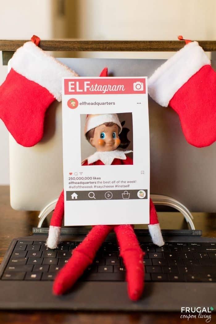 Elf Instagram Photo Book Frame