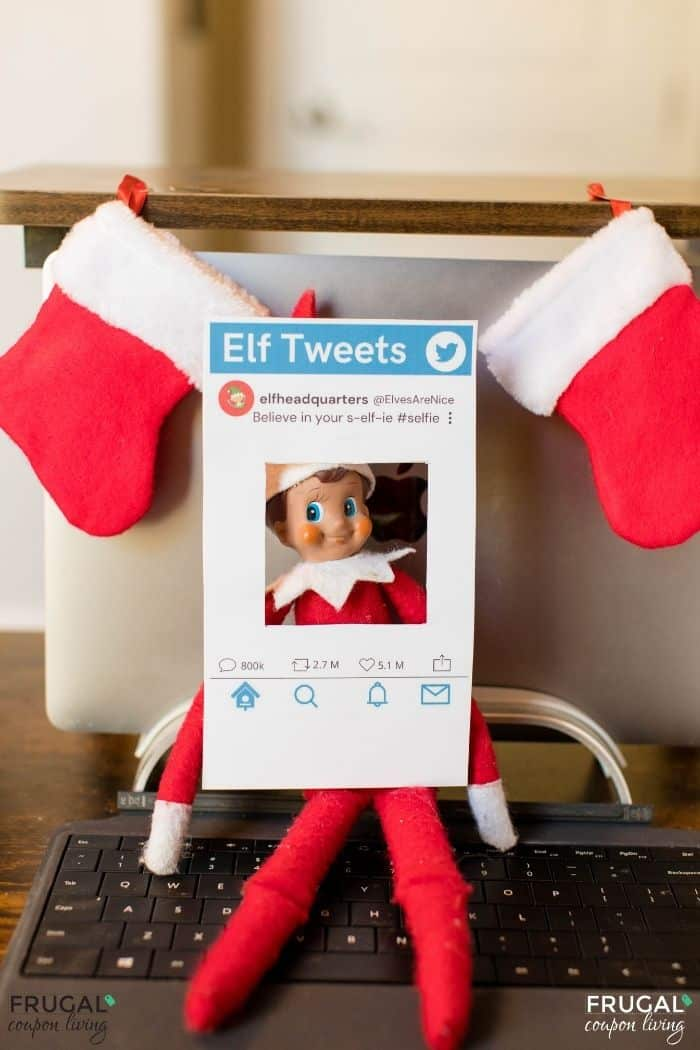 Elf Twister Photo Booth prop