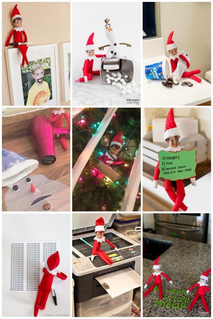 Mischievous Elf on the Shelf Ideas