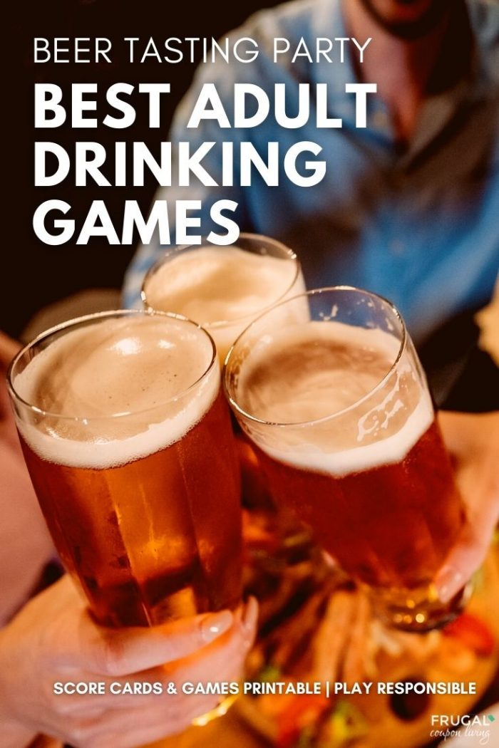 Best Adult Drinking Games for a Beer Tasting Party