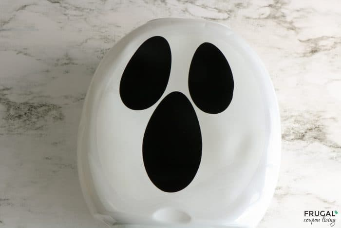 ridiculously easy ghost craft for halloween