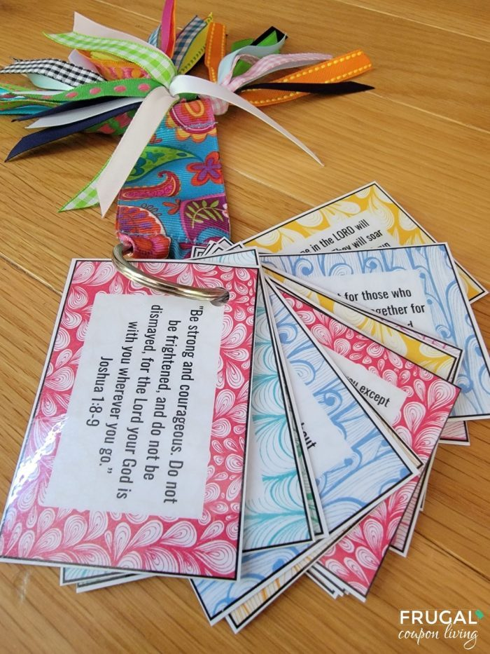 scripture cards craft bible verse cards on the go