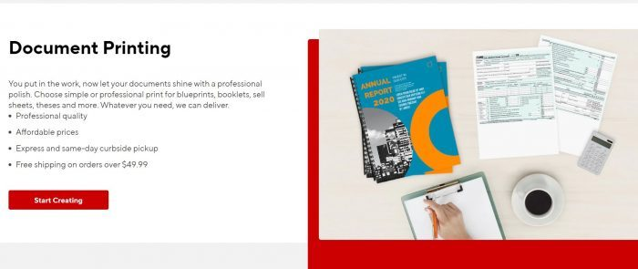 staples document printing services