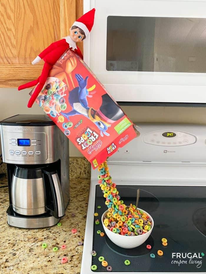 Elf on the Shelf Magic Cereal Trick