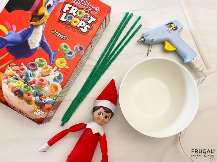 Elf on the Shelf Cereal Trick Supplies