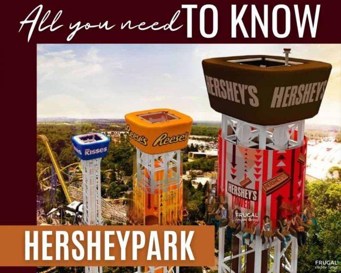 Hershey Park Hacks