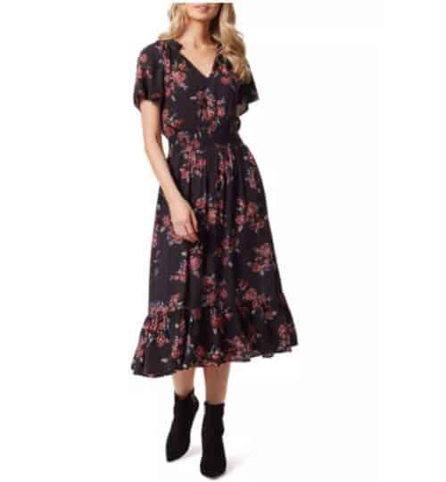 belk boho fall dress jessica simpson