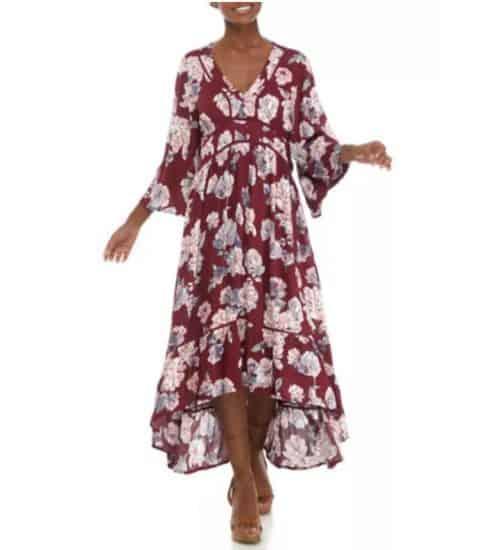 Belk Fall Maxi Dress