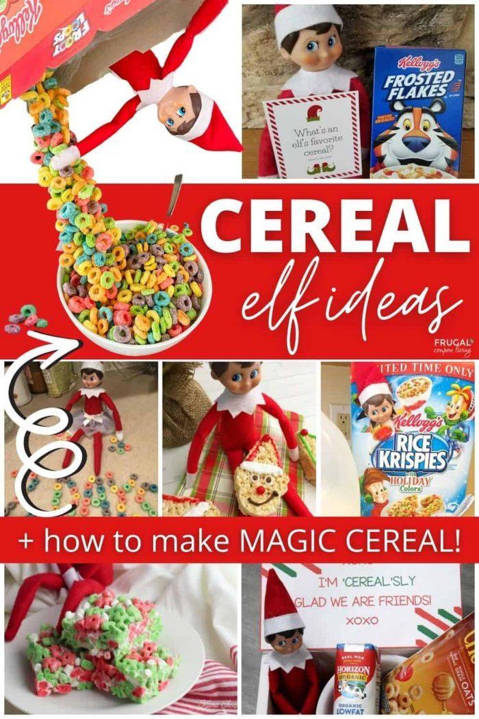 Elf on the Shelf Cereal Ideas