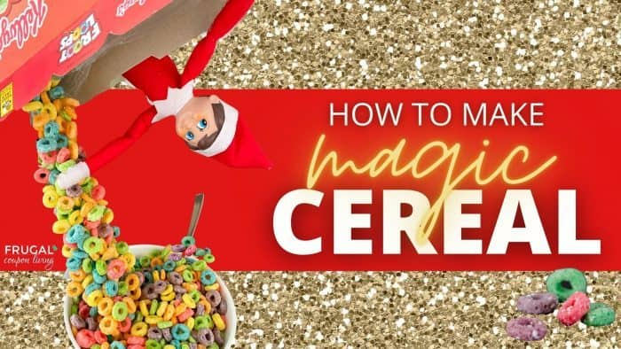 How to Make Magic Elf on the Shelf Cereal Trick