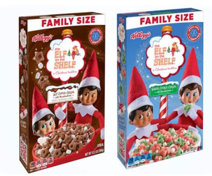 Elf on the Shelf Cereal at Walmart