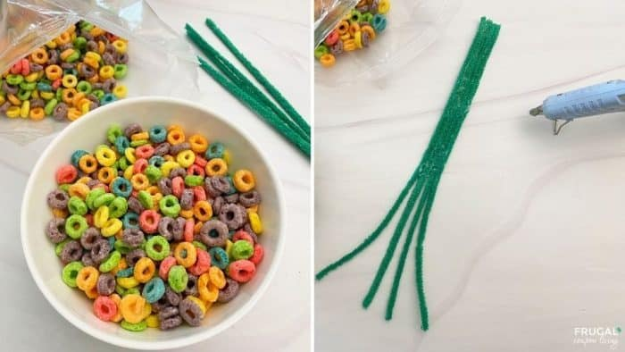 How to make elf on the shelf cereal trick directions