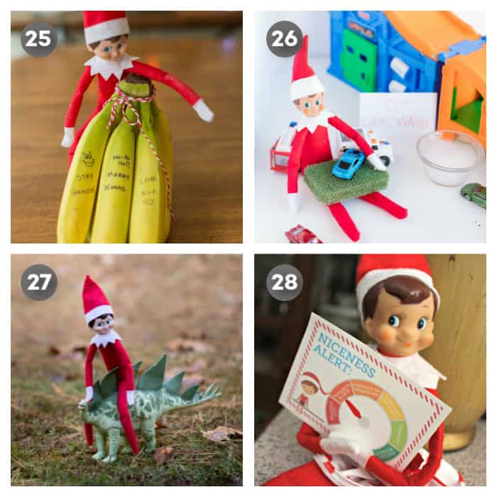 last minute elf on the Shelf ideas