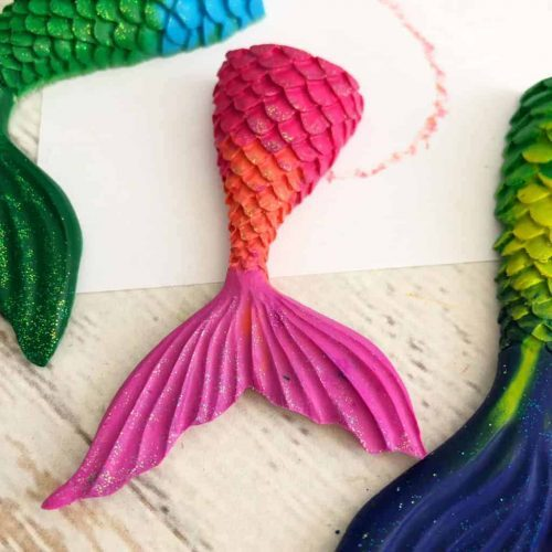 mermaid crayon
