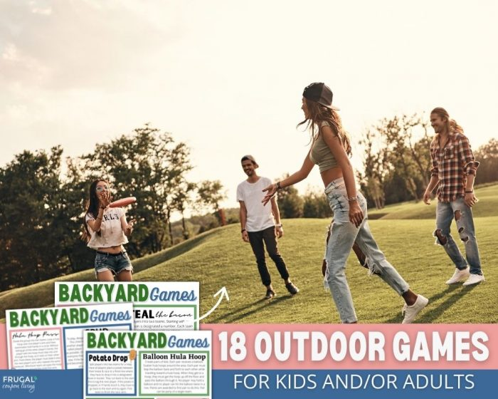 Outdoor Games for Groups
