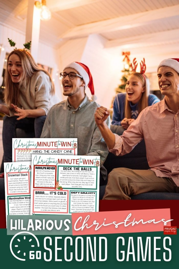 Minute to Win it Games Christmas