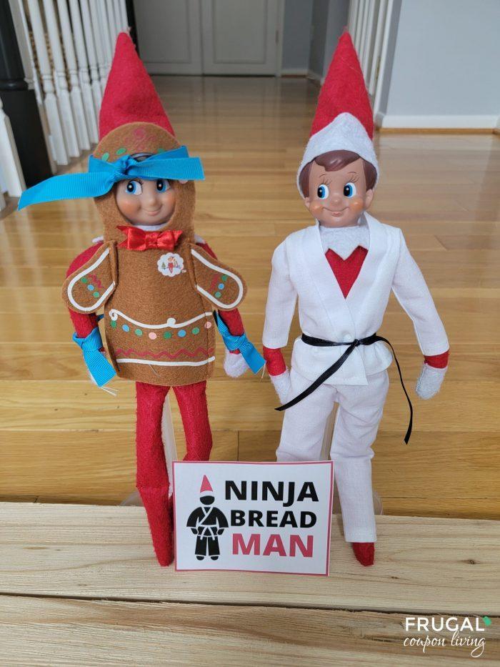 Ninjabread Man Elf on the Shelf
