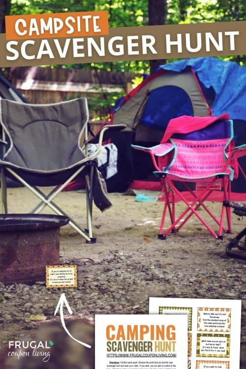 camping party activities for kids
