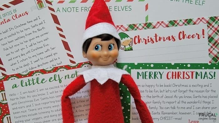 Elf on the Shelf Letter Template Download